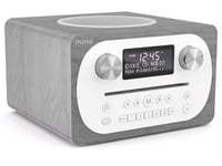 Pure Evoke C-D4 Bluetooth Compact All-In-One Music System - Grey Oak