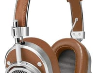 Master & Dynamic MH40 Over-Ear Headphone Silver Metal/Brown Leather