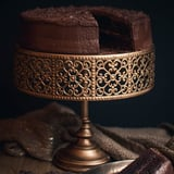 Whole small Double Chocolate Cake (20cm)