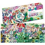 Djeco Puzzle Gallery Rainbow Tigers 1000st