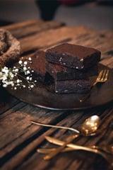 Dark Chocolate Walnut Brownie