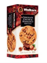 Chocolate chunk & hazelnut biscuits