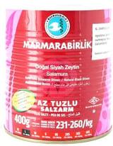 Marmarabirlik Hiper Olijven Minder Zout 400 Gr