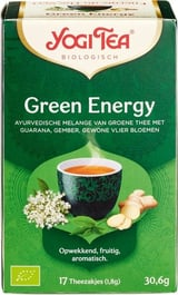 Yogi Tea Green Energy 17 Builtjes
