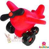 Rubbabu - Takota Propeller Airplane (Red)