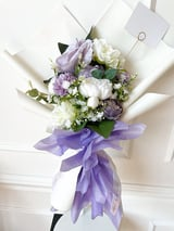Flower Bouquet Small Paars