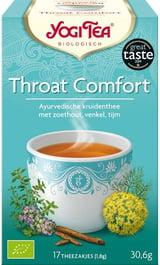 Yogi Tea Throat Comfort Thee 17 Builtjes