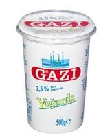Gazi Yoghurt 3,5% 500 Gr