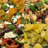 Mix van salades groot