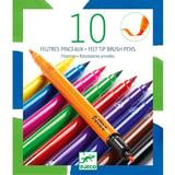 Djeco 10 Dubbelzijdige Stiften Classic