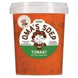 Oma's Soep Tomaat en Verse Basilicumsoep