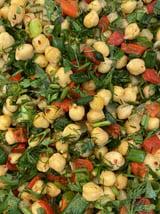 Kikkererwten Salade Meze Tapenade per 100 Gr