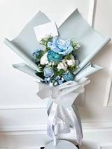 Flower Bouquet Small Blauw