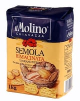 Semola Rimacinata Di Grana Duro Pizza Pasta Meel