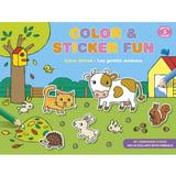 Color & Sticker Fun - Lieve Dieren