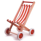 Houten Buggy Rood Wit