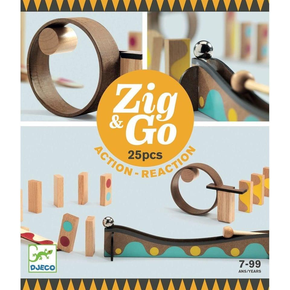 Zig & Go actie/reactie baan (25 stuks)