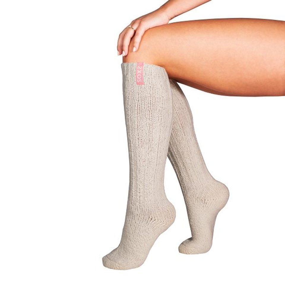 Soxs Woman Fairy Tale, Off White Knee