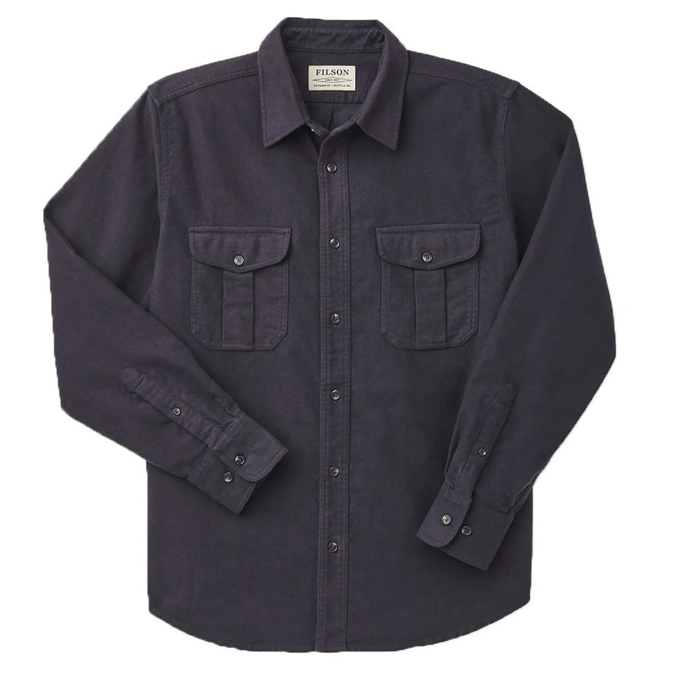 Filson Filson Moleskin Seattle Shirt Navy