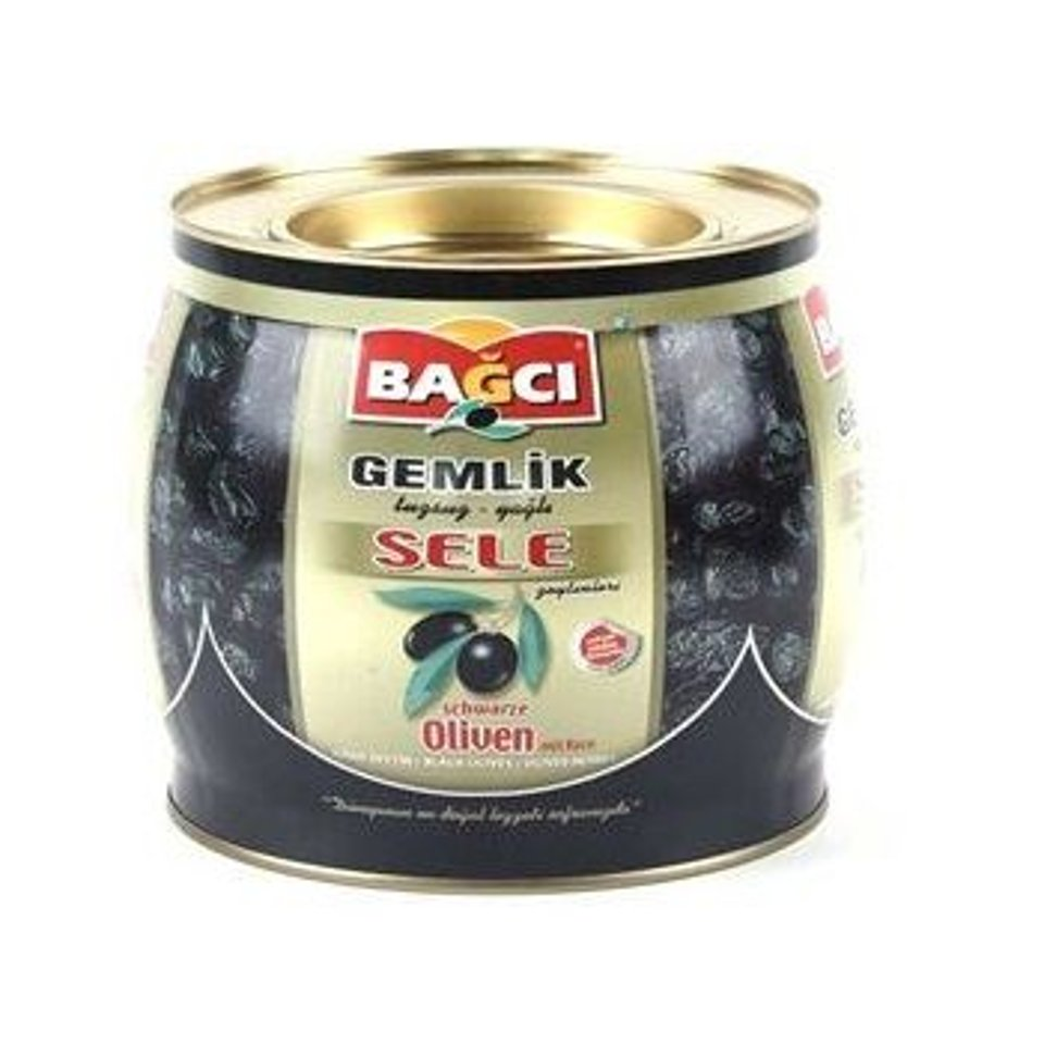 Bagci Olijven Zwart 1,5kg