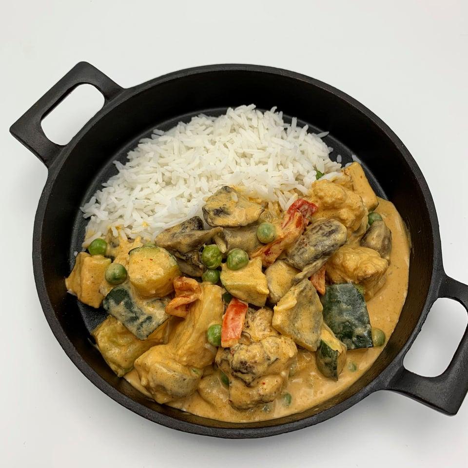 Groente curry