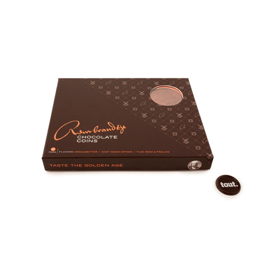 Rembrandtje Chocolate Coins Gift box 12 munten