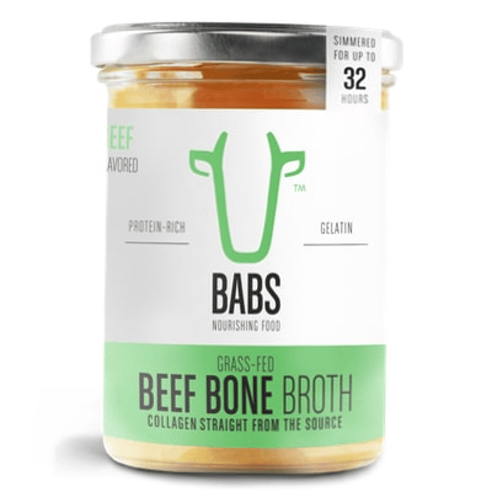 100 Percent Grass-fed Beef Bone Broth