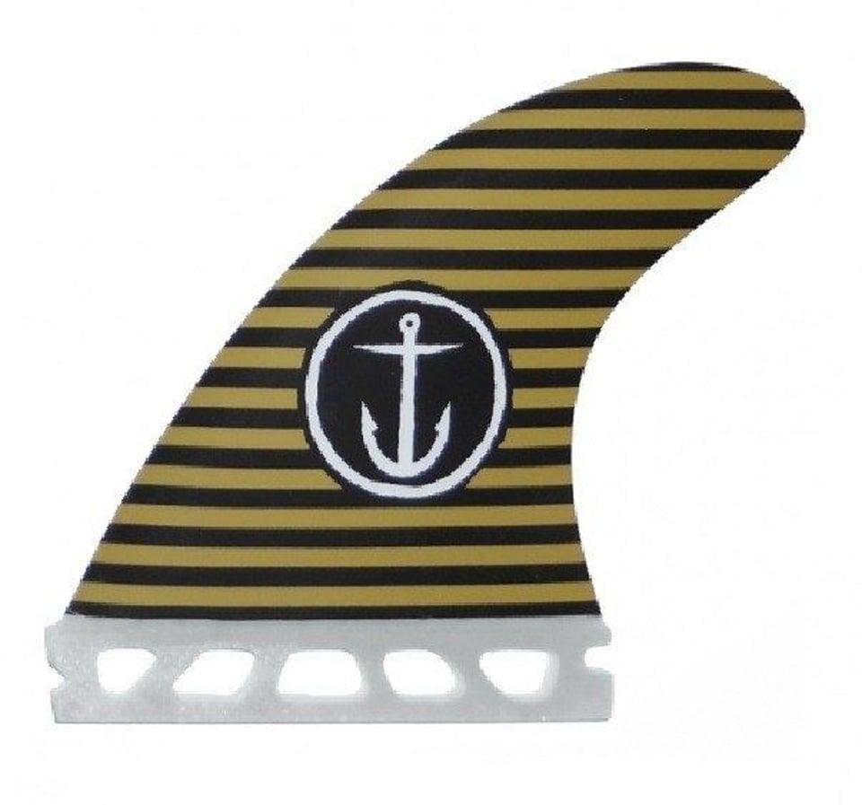 Captain Fin Captain Fin Captain Black Army Stripes - Twin fin set