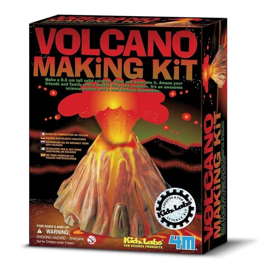 4M Maak zelf een vulkaan