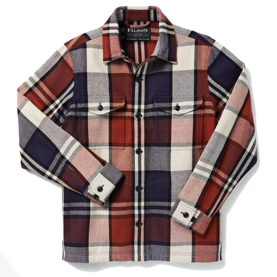 Filson Filson Deer Island Jac Shirt Rust / Navy / Cream