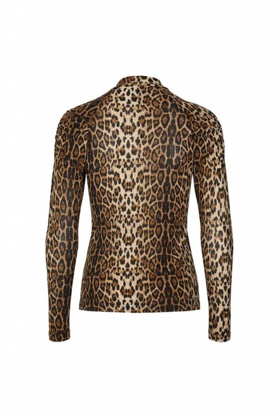 Ellen Blouse - Leopard #1