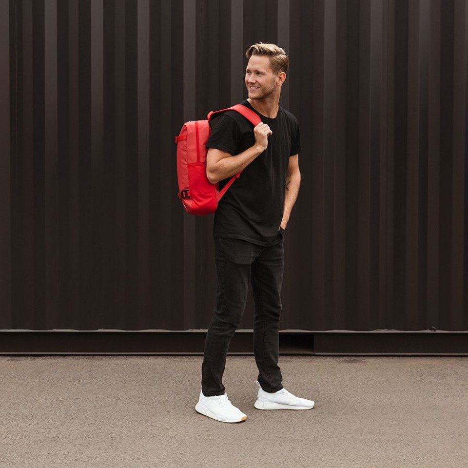 Douchebags Douchebags The Scholar Backpack Scarlet Red #4