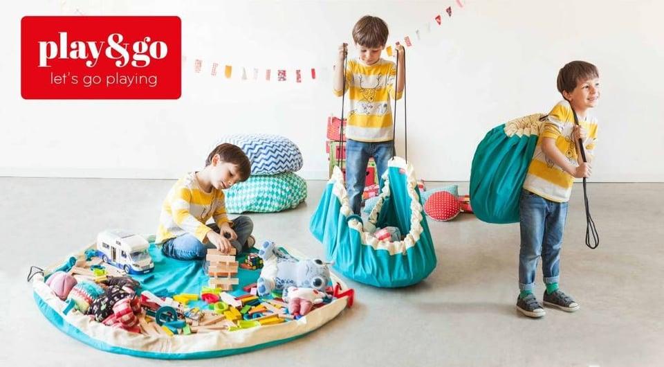 Play & go Speelmat en Opbergzak - Laundry #3