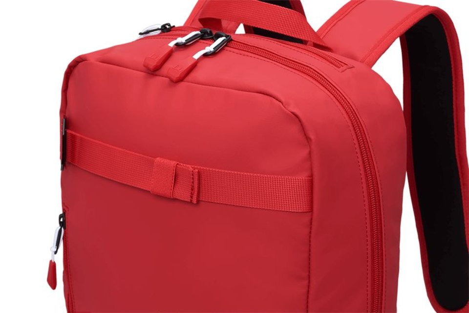 Douchebags Douchebags The Scholar Backpack Scarlet Red #3