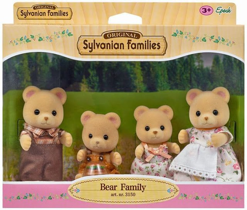 Sylvanian Families Beer Familie #1