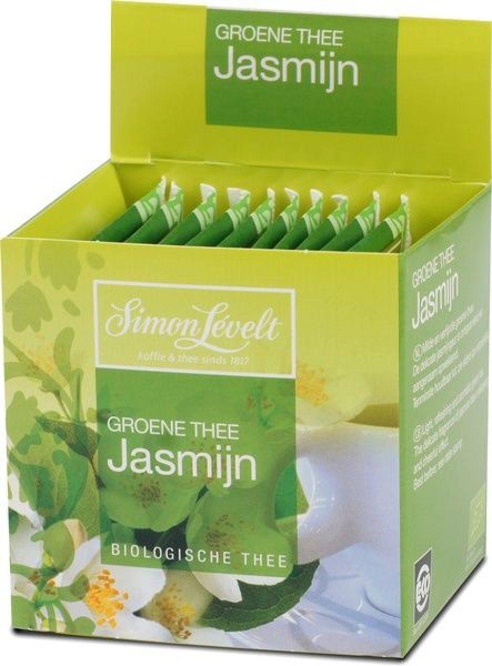 Groene thee jasmijn builtjes