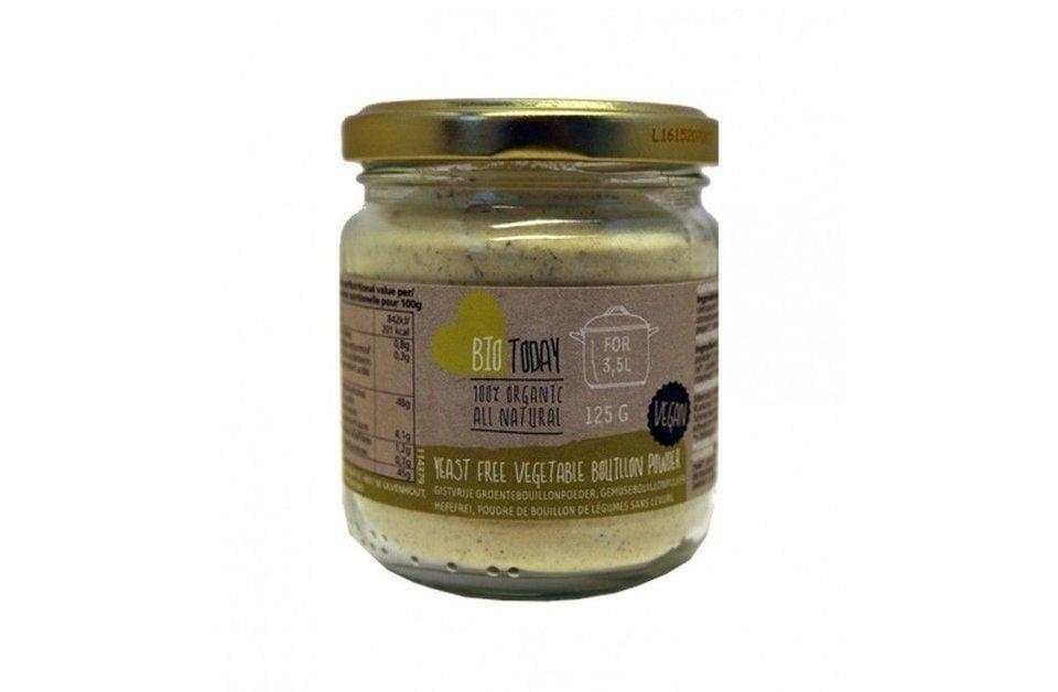 Yeast free vegetable bouillon powder