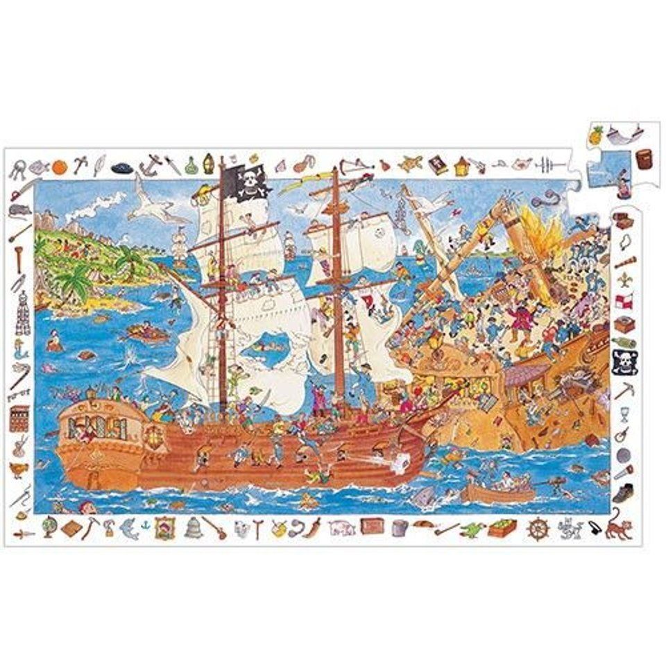 Discovery puzzle Piratenschip