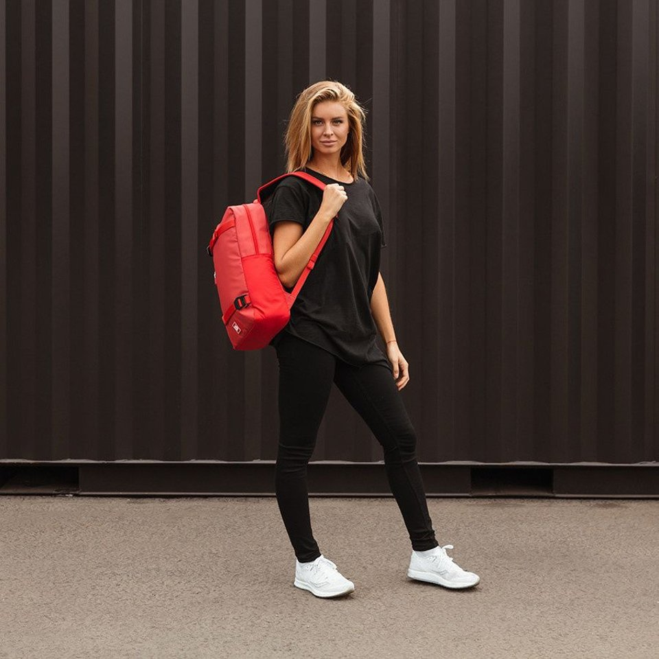 Douchebags Douchebags The Scholar Backpack Scarlet Red #5