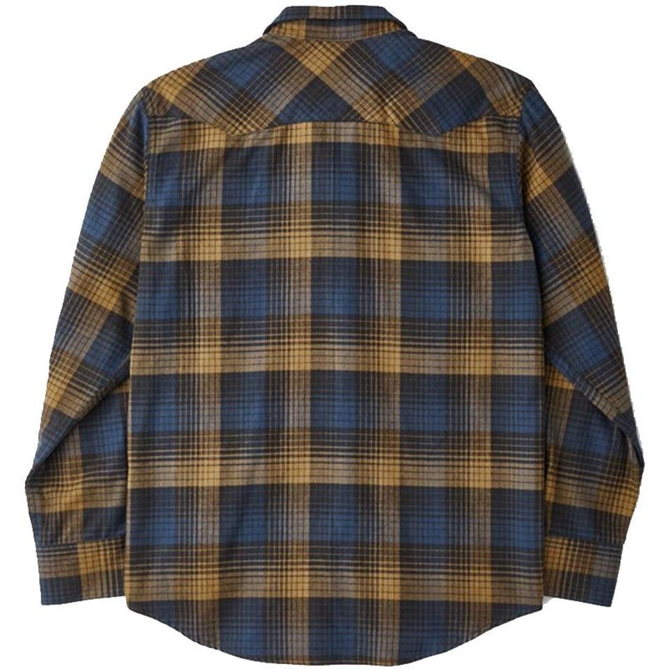 Filson Filson Western Flannel Shirt Blue / Black / Ochre #1