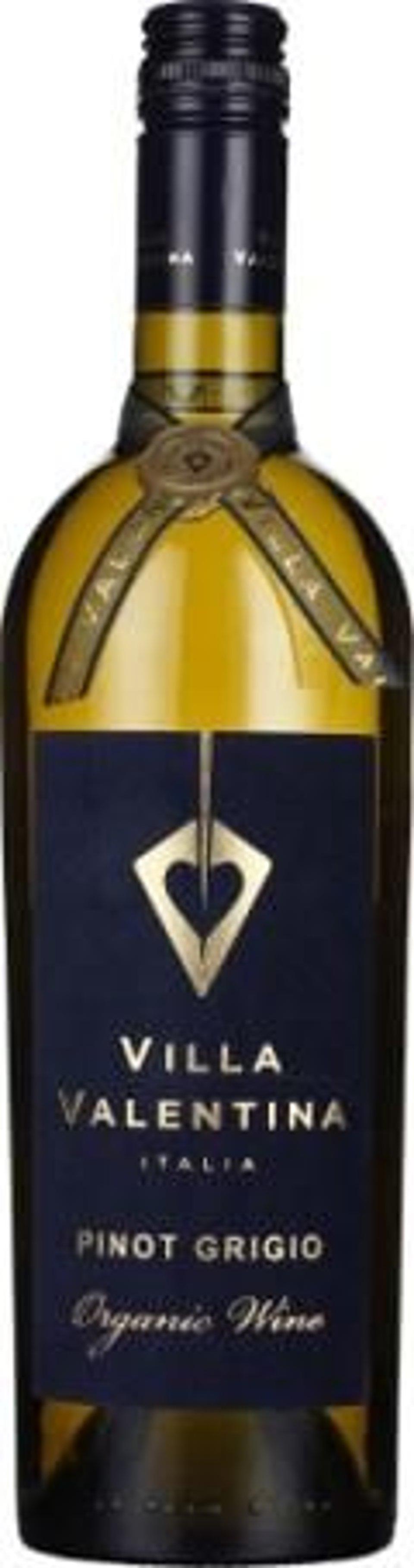 Fles Villa Valentina Pinot Grigio Organic 75CL