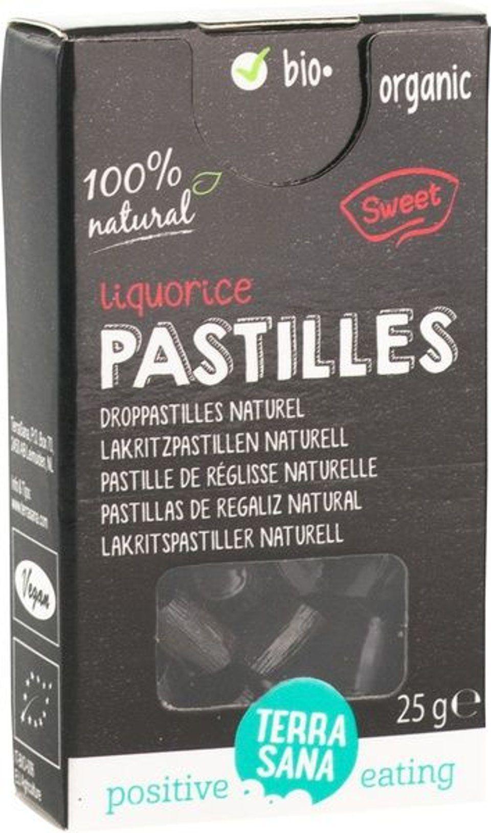 Droppastilles naturel
