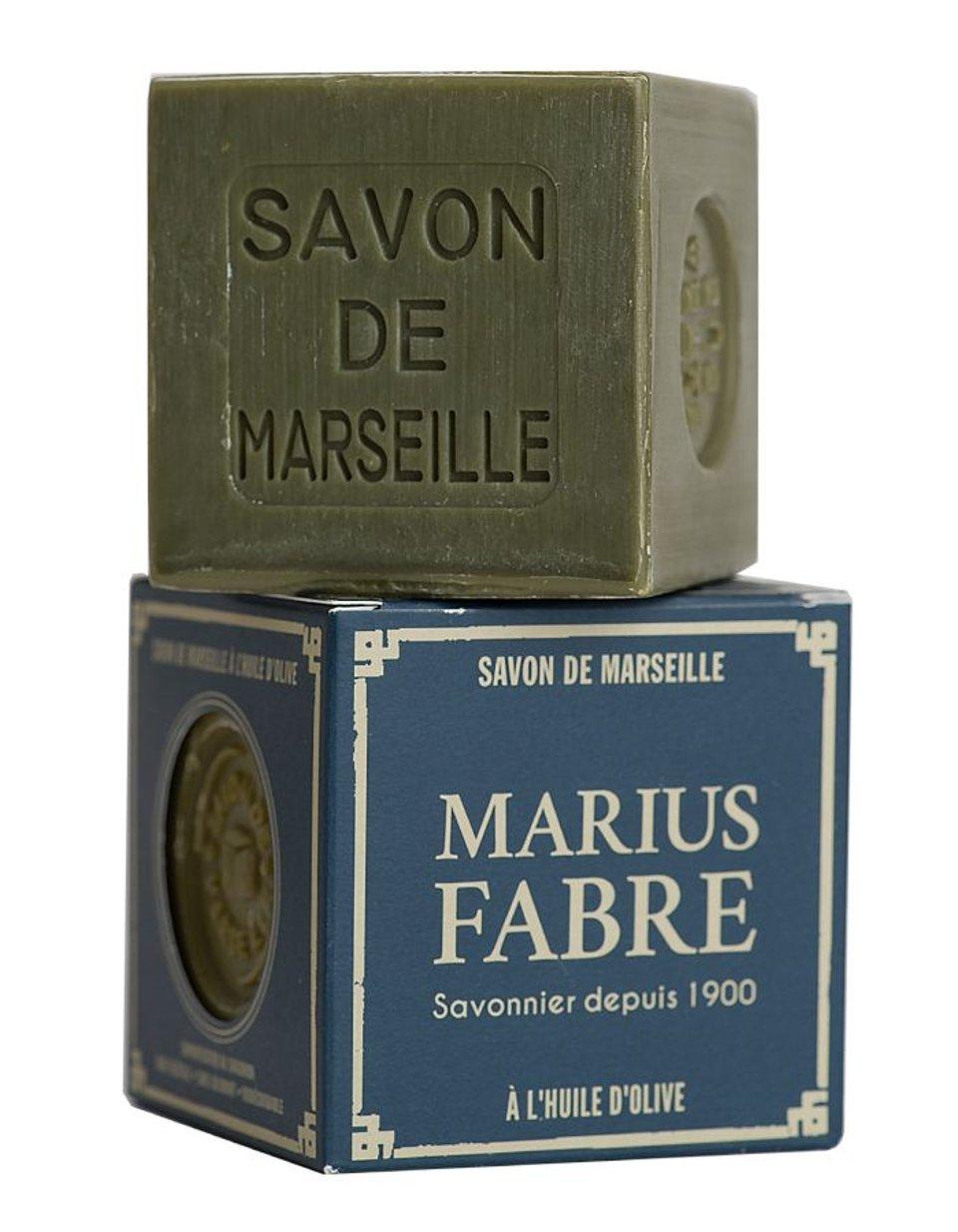 Marius Fabre zwarte zeep, blok 400 gram