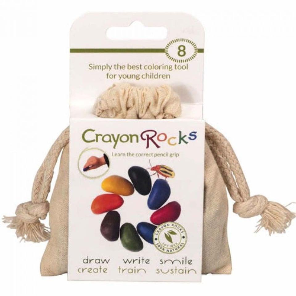 Crayon Rocks Acht Stuks