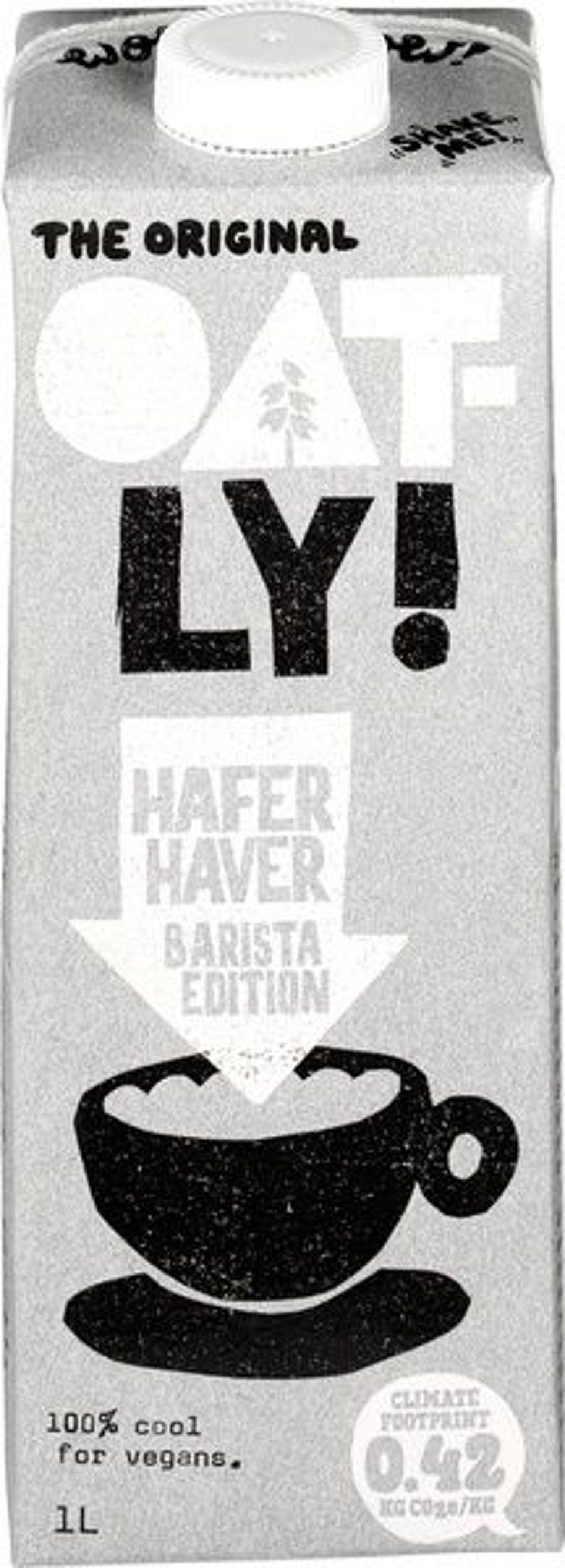 Oatly! Haverdrank barista editon
