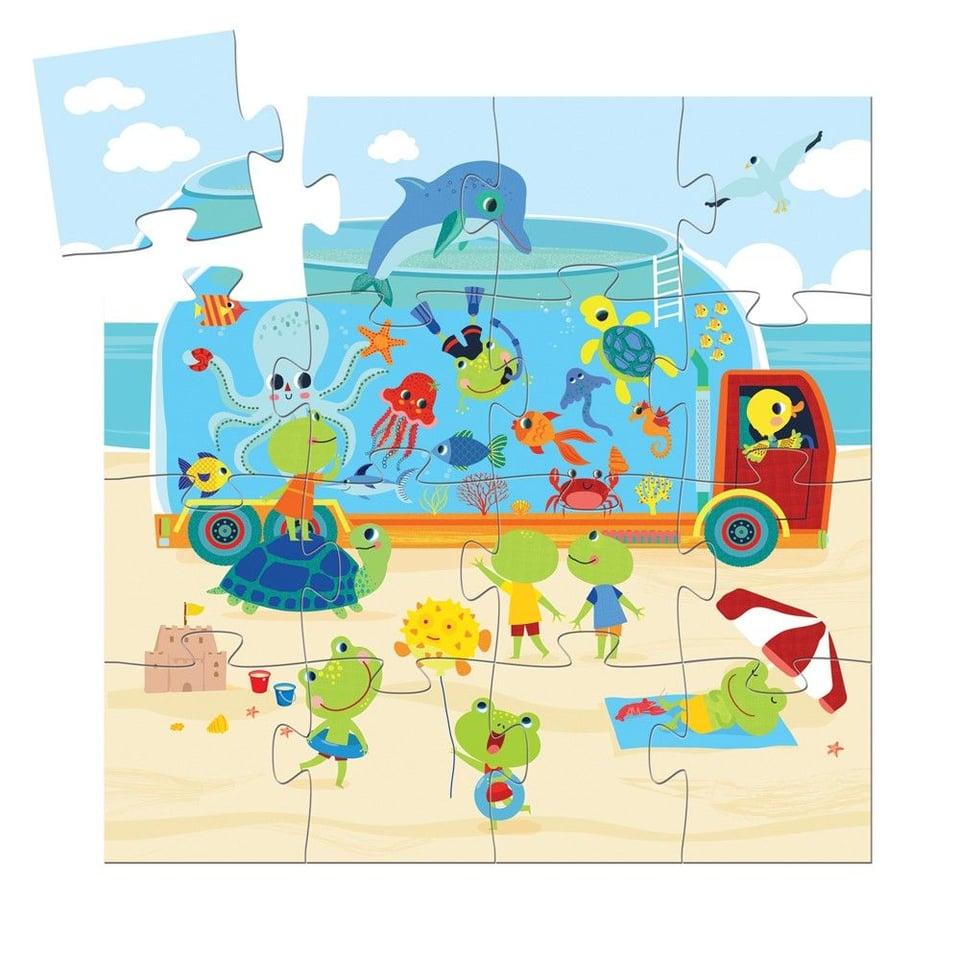 Puzzel Aquarium #1