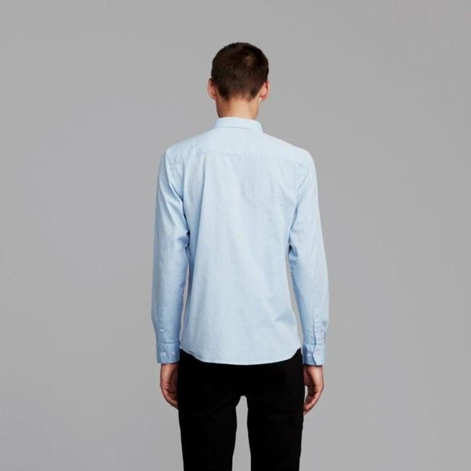 Makia Makia Bellevue Shirt Light Blue #2