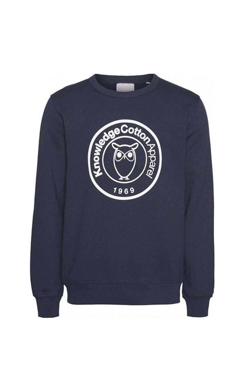 Sweater Elm Badge Print #1