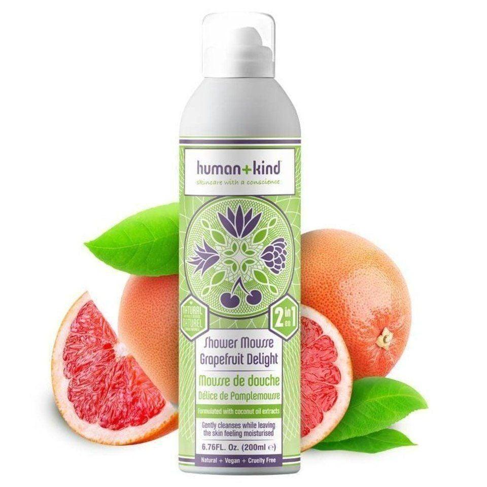 Shower mousse grapefruit delight