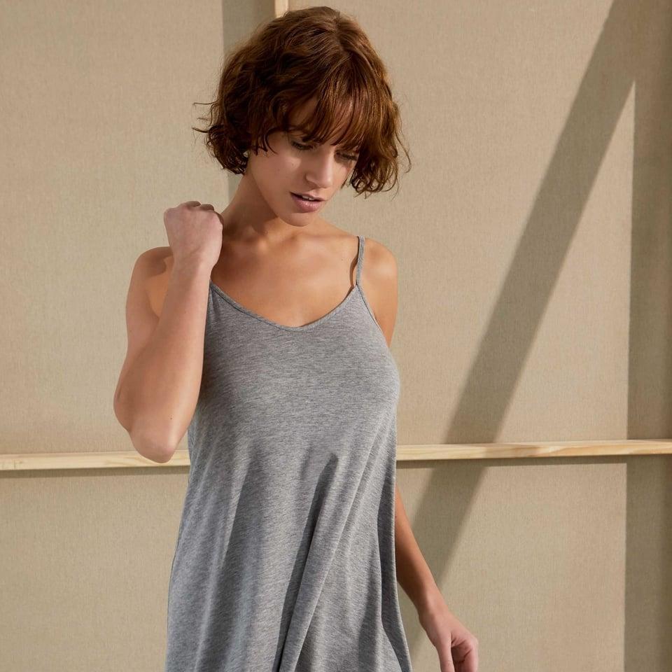 Sunday in Bed nachthemd Alicia in nachtblauw